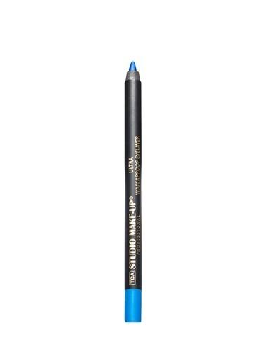 Tca Studio Make Up Ultrawaterproof Eyelıner 808 Dark Blue Mavi